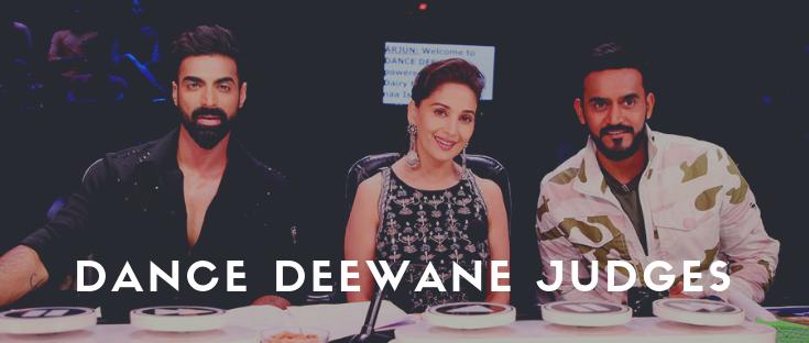 Dance Deewane Judges