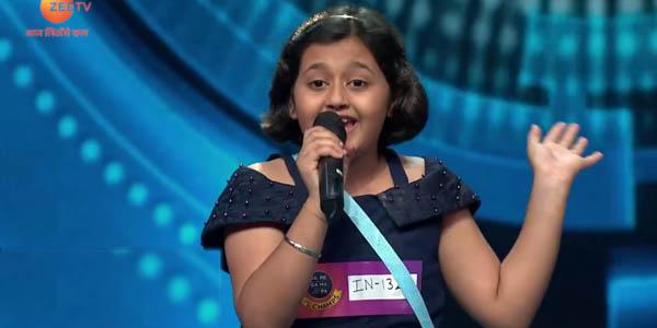 sa re ga ma pa 2020 contestant radhika mishra