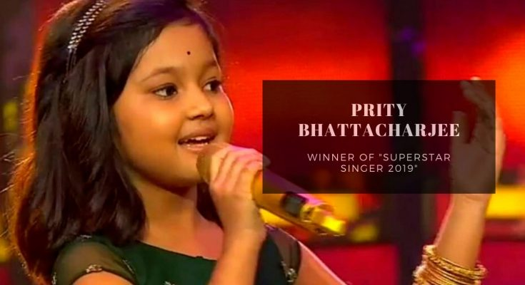 prity bhattacharjee winner of Superstar singer 2019
