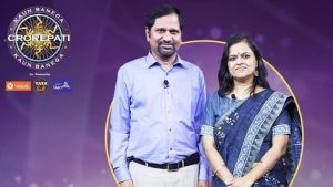 KBC12 Karmaveer Special Gyanendra Purohit And Monica Purohit Anand Service Society