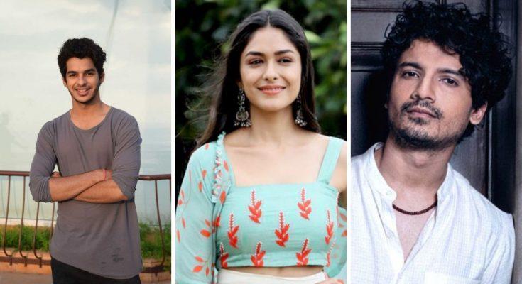 upcoming film 'Pippa' star cast is finallized, Ishaan Khattar, Priyanshu Painyuli, Mrunal Thakur and Soni Razdan
