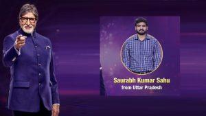 Saurabh Kumar Sahu took huge risk in KBC12