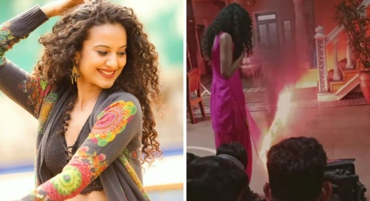 Heena Parmar shoots