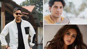 Ajay Devgan, Rakul Preet Singh and Siddharth Malhotra