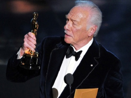 Christopher Plummer wins Oscar for Best Supporting Actor