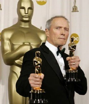 Clint Eastwood wins best director Oscar for Million Dollar Baby