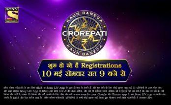 Registrations of Kaun Banega Crorepati Season 13 (2021)