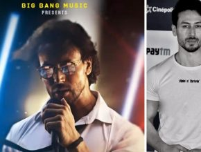 tiger shroff first song